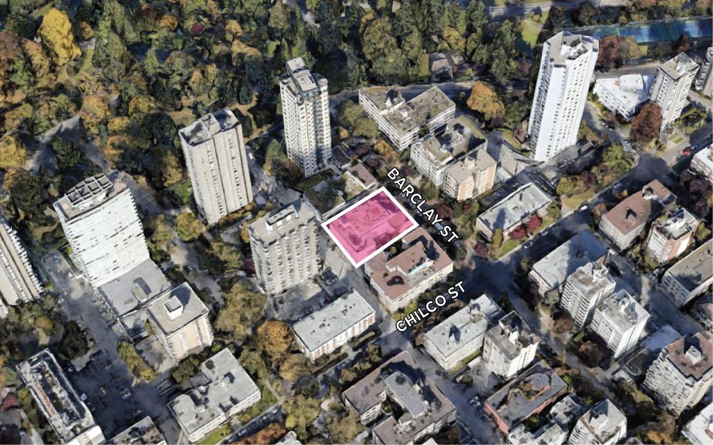 Land Assembly 2030 Barclay Street Vancouver