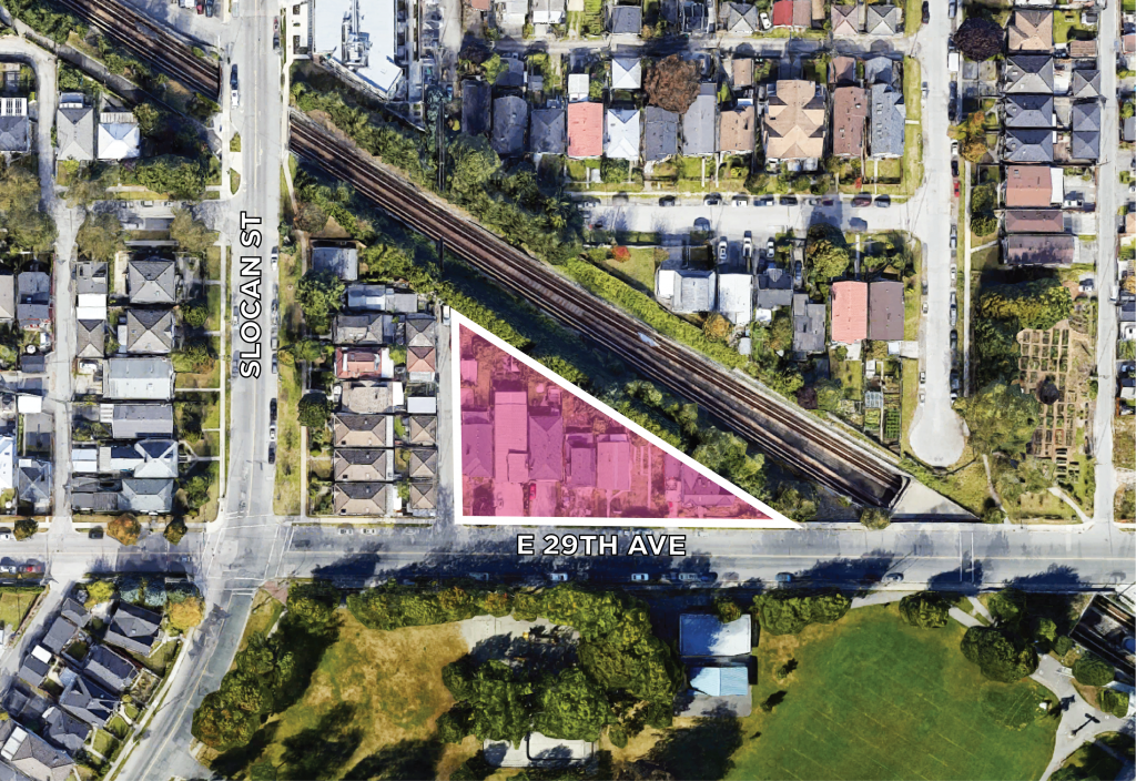 Land Assembly 2723-2765 East 29th Ave Vancouver