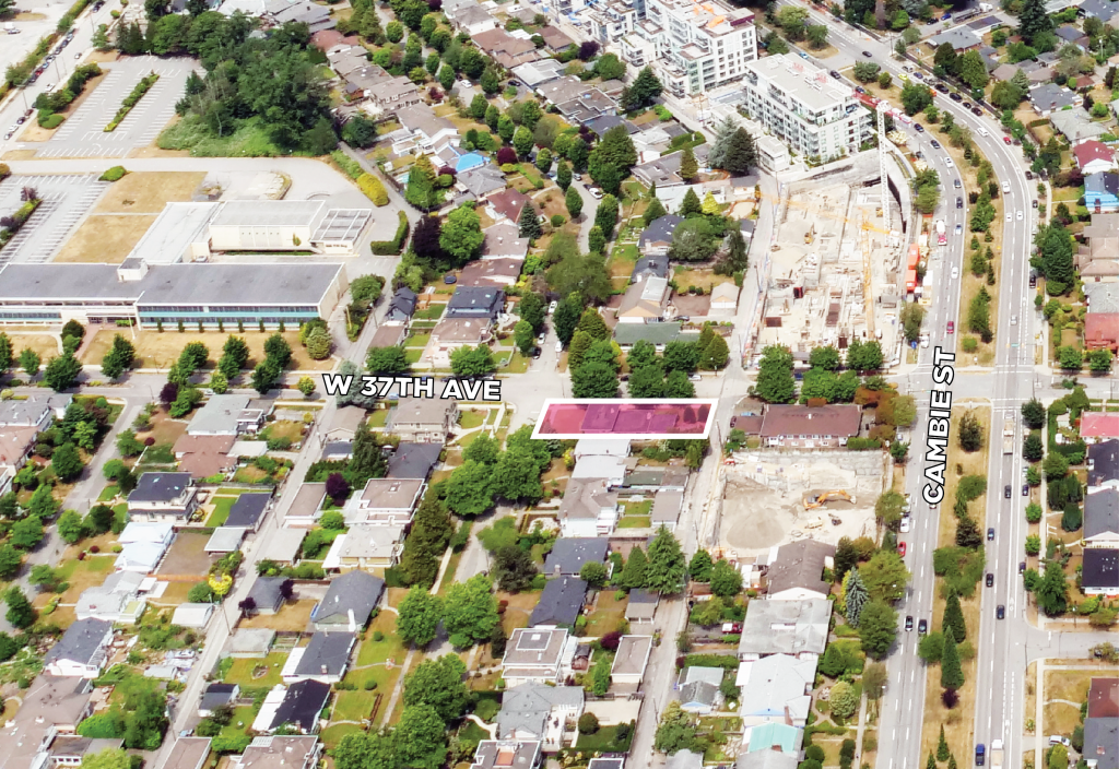 Land Assembly 576 West 37th Ave Vancouver
