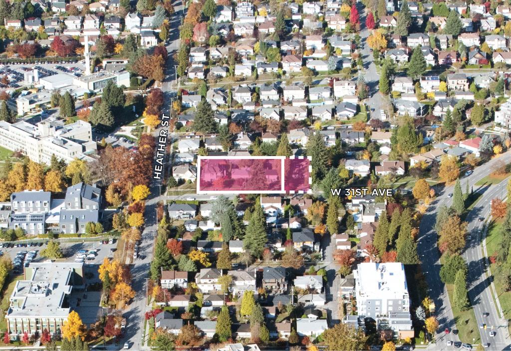 Land Assembly 643-683 West 31st Ave Vancouver