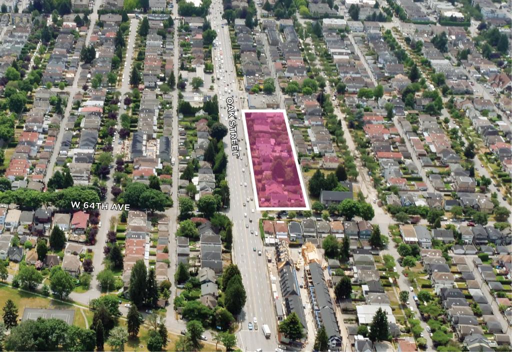 Land Assembly 8029-8225 Oak Street  1012 West 64th Ave Vancouver