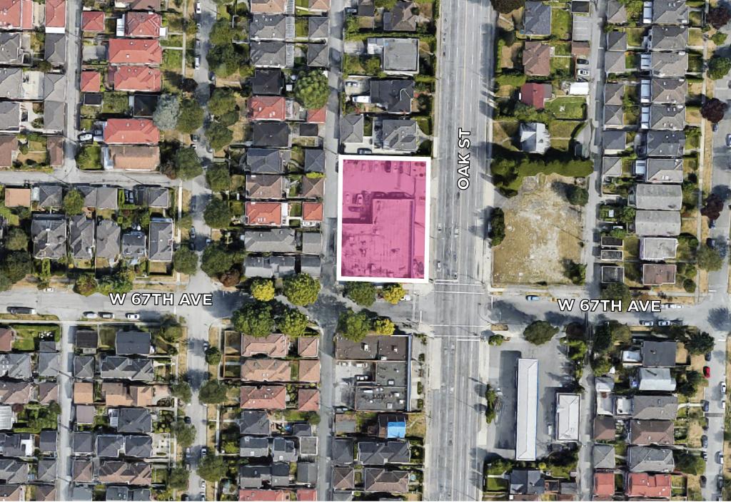 Land Assembly 8257 Oak St Vancouver