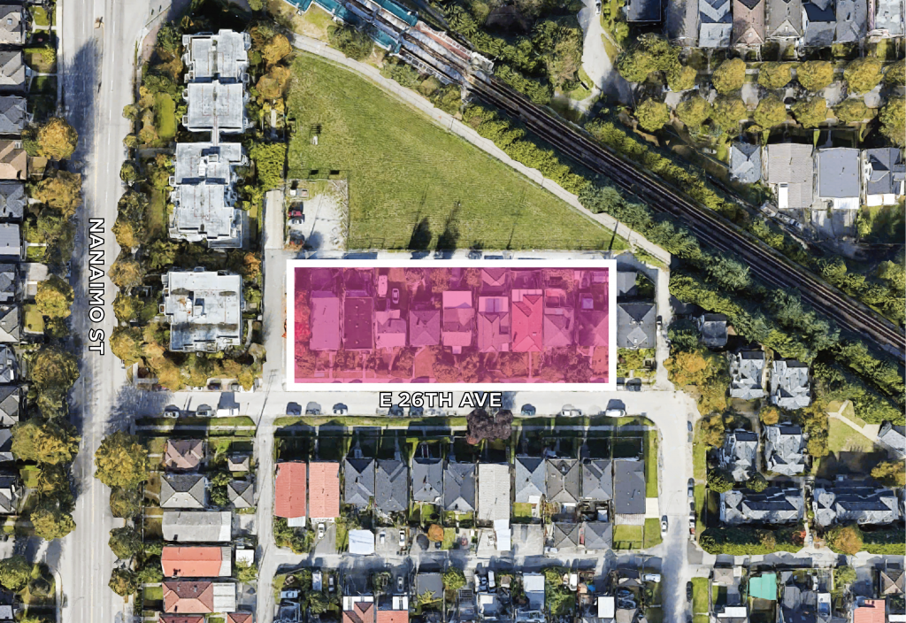 Land Assembly 2415-2483 East 26th Avenue Vancouver