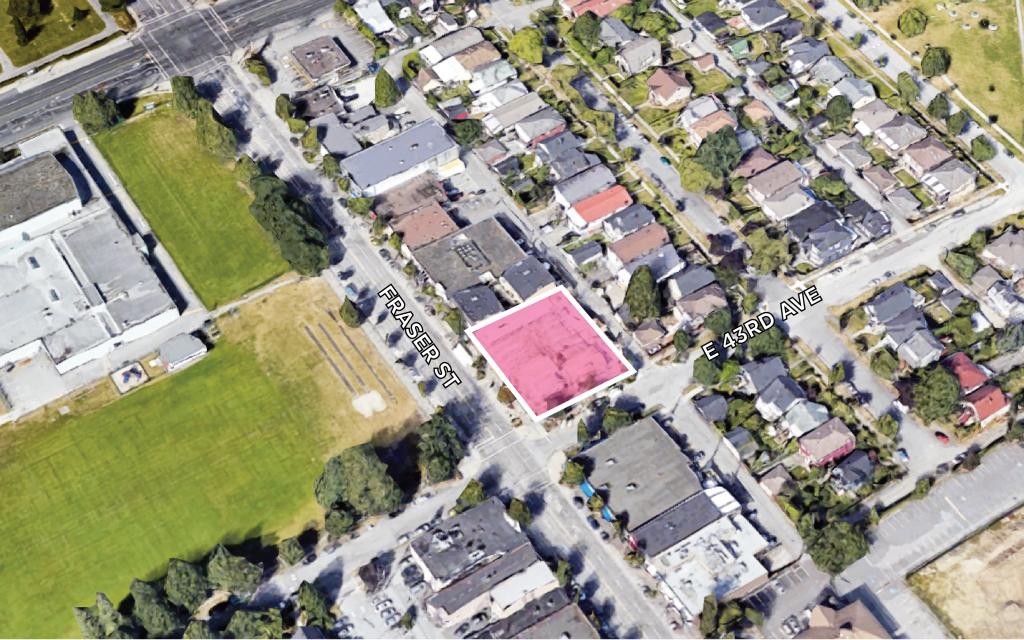 Land Assembly 5896 Fraser Street Vancouver