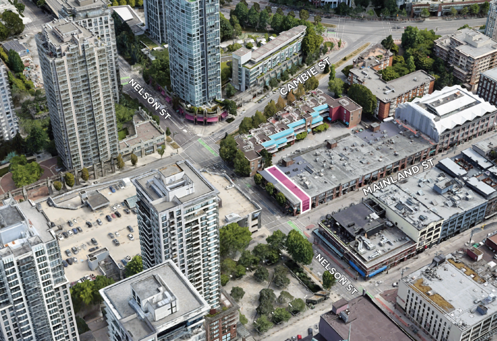 Land Assembly 1002 Mainland Street Vancouver