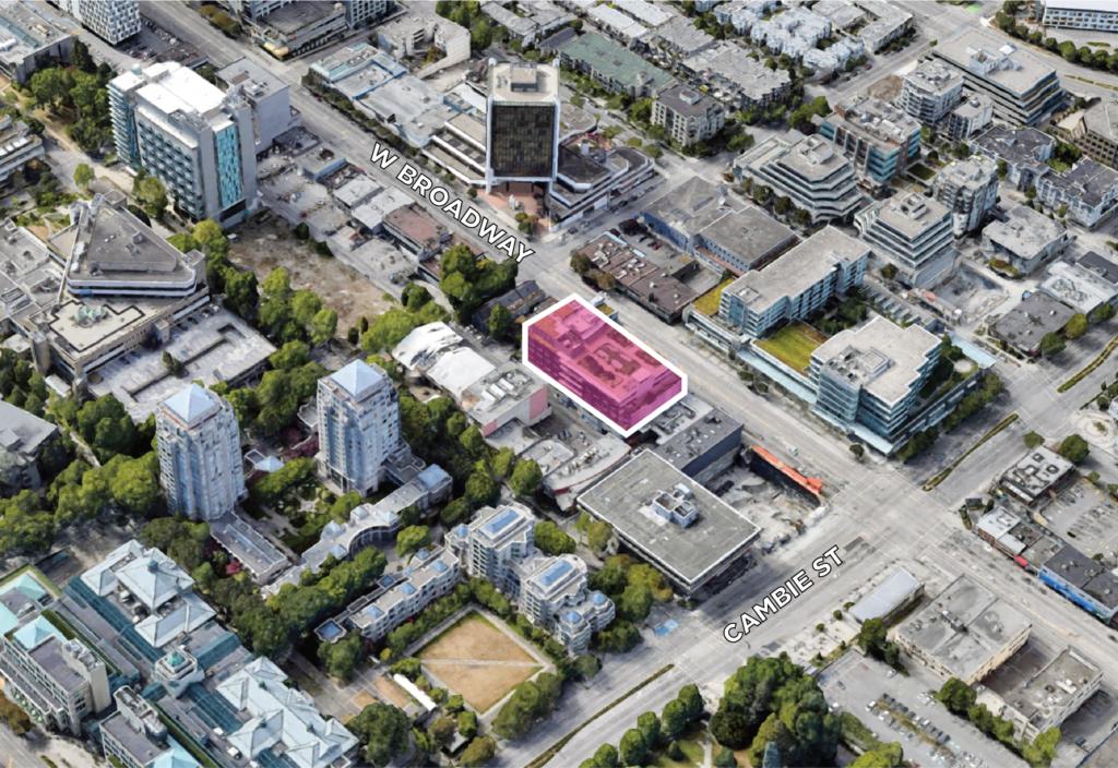 Land Assembly 510-550 W Broadway Vancouver
