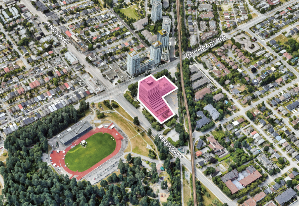 Land Assembly 3777 Kingsway Burnaby